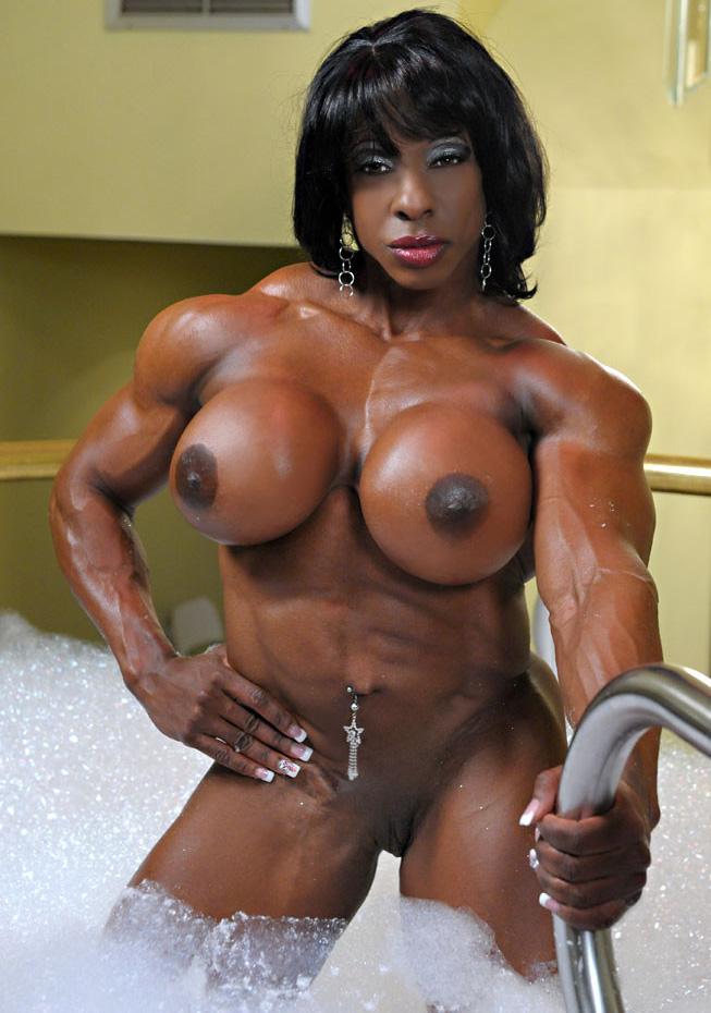 porn female bodybuilder clit
