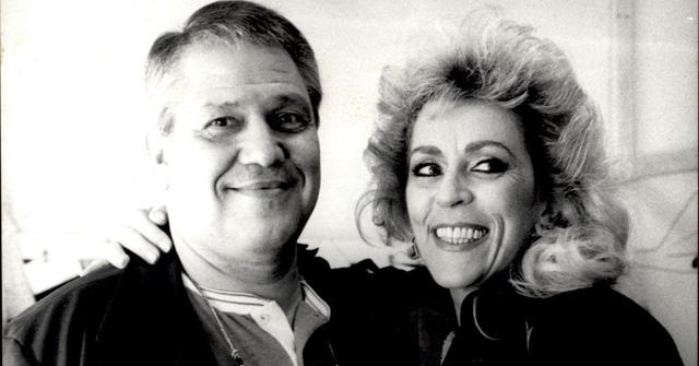 Marly Marley e Ary Toledo em foto de 1987