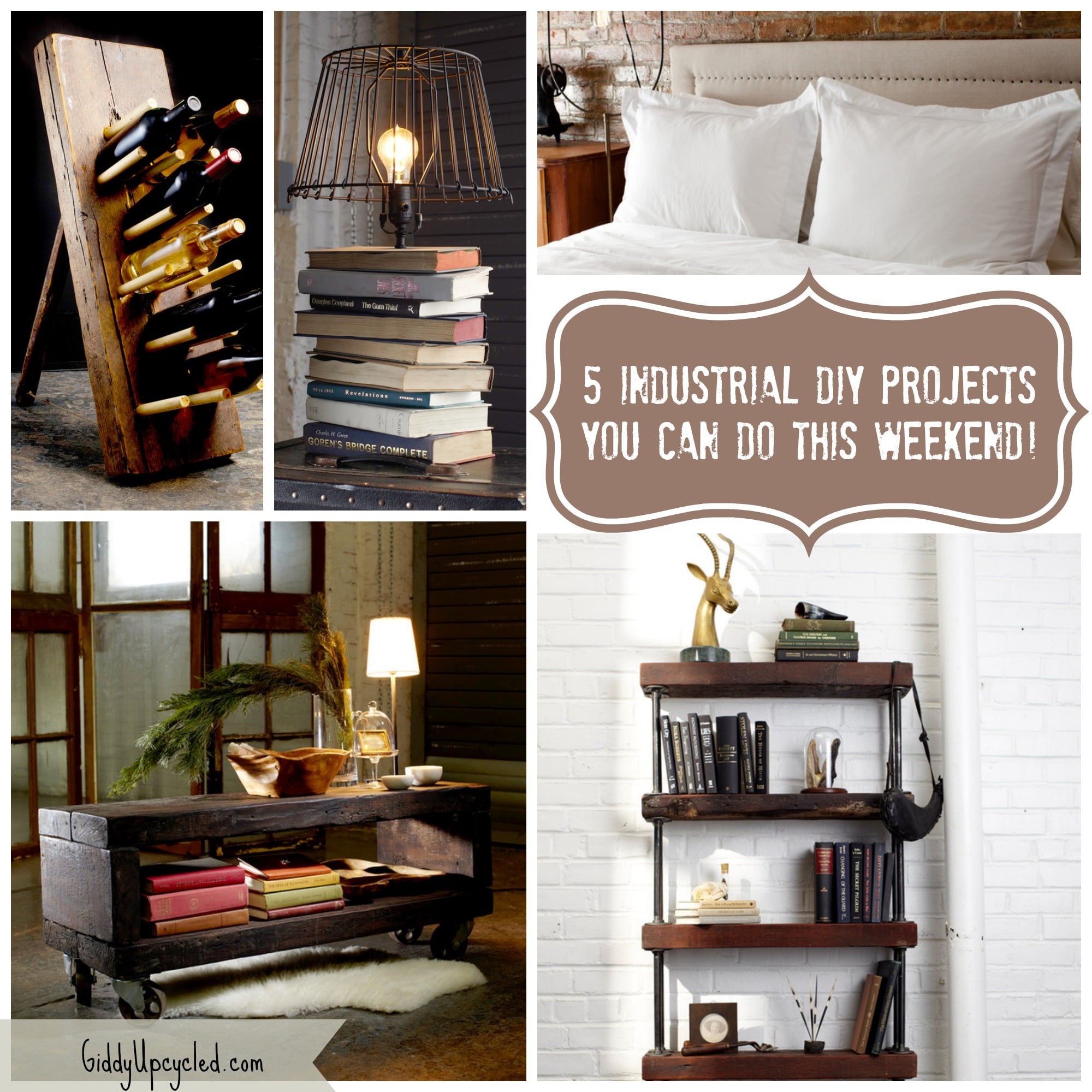 5 rustic diy industrial furniture projects you can do this for Industrial diy projects