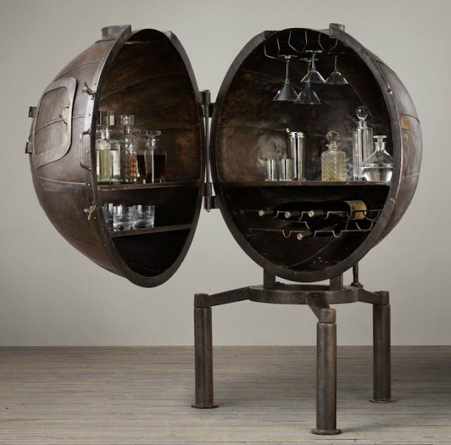Top 10 Liquor Cabinet and Bar Upcycles