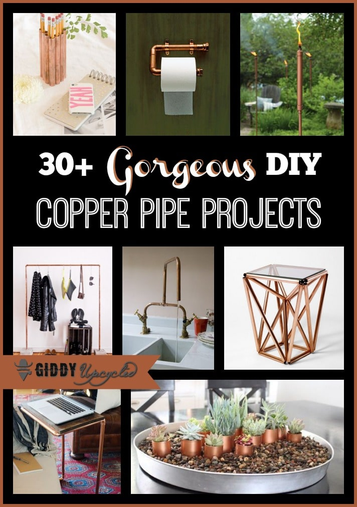 Diy Upcycled Decor Diy Upcycled Copper Pipe