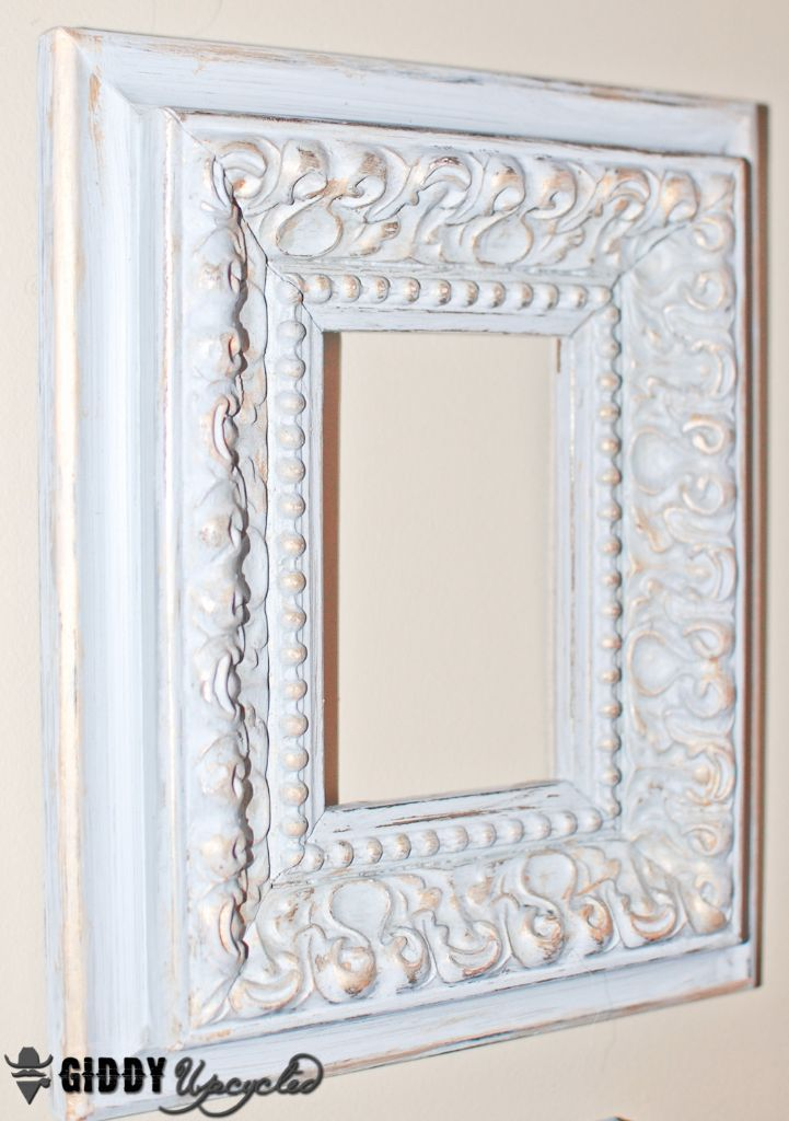 How to create a distressed french vintage look with chalky finish