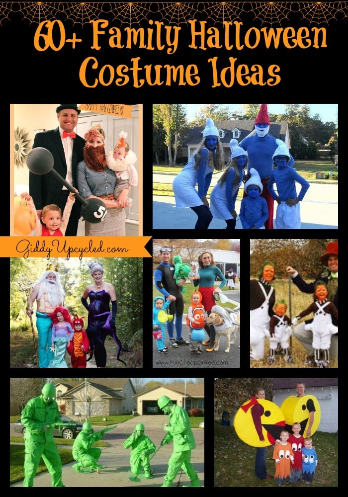 60+ Family Halloween Costume Ideas!