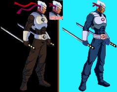 Jaden Sprite with true Medallion Sprite comparisons