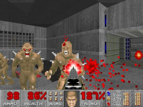Doom was one of the main reasons work was stalled in offices around the world.