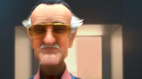 One of Lee's latest appearances in Big Hero 6.