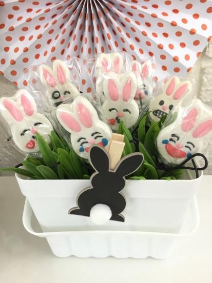 Bunny Emoju suckers