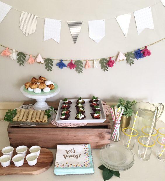 fiesta treat table