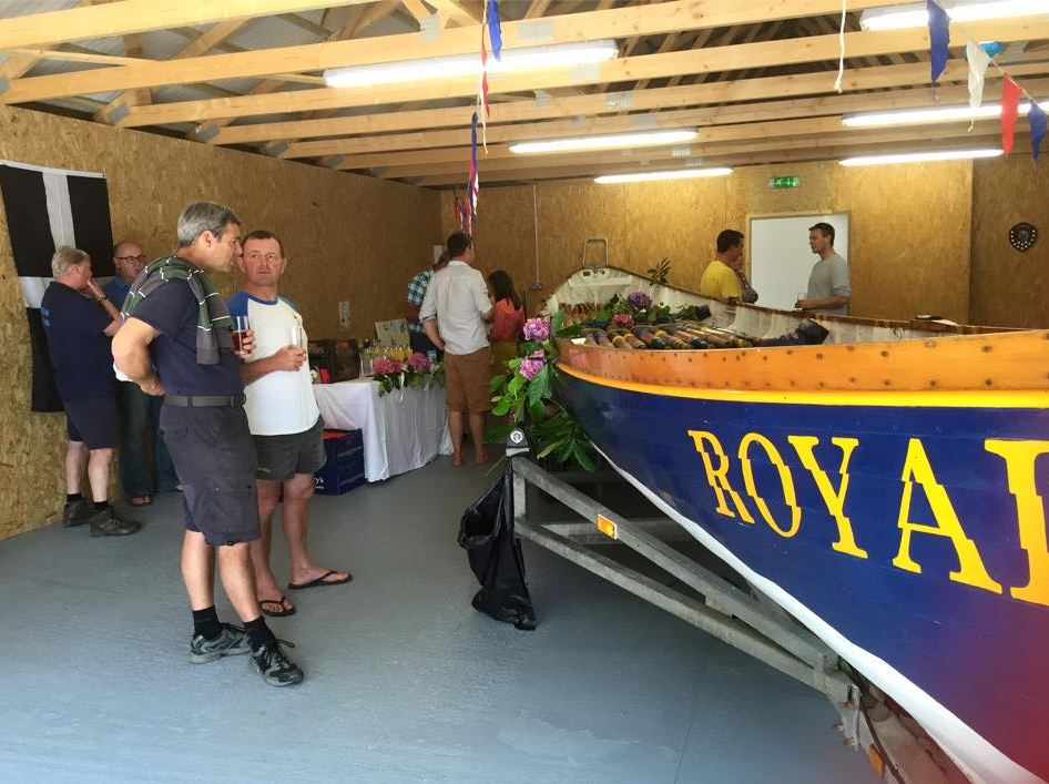 Truro Rowing Club S New Shed Gigrower