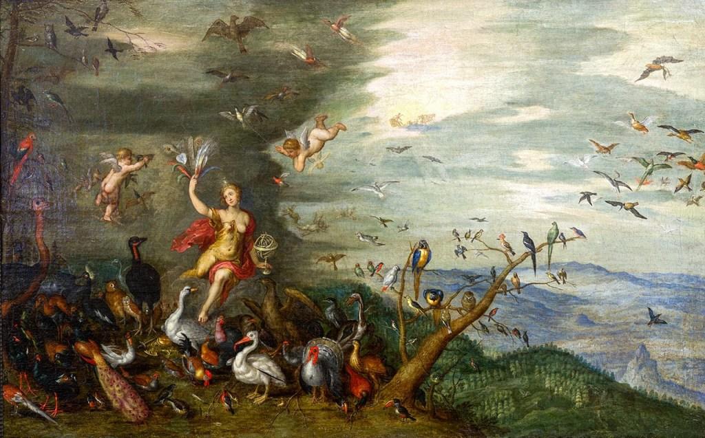 Brueghel - The Elements - Air (Macro Details) 07