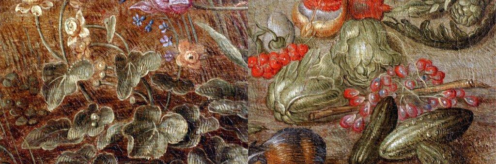 Brueghel The Elements - Earth Macro Details2