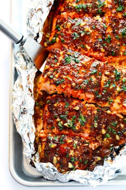 Pool Salmon Pink Foil Gimme Some Oven What Goes Good Easy To Make On Honey Mustard Salmon Salmon Patties What Goes Good This Honey Mustard Salmon Recipe Is Quick