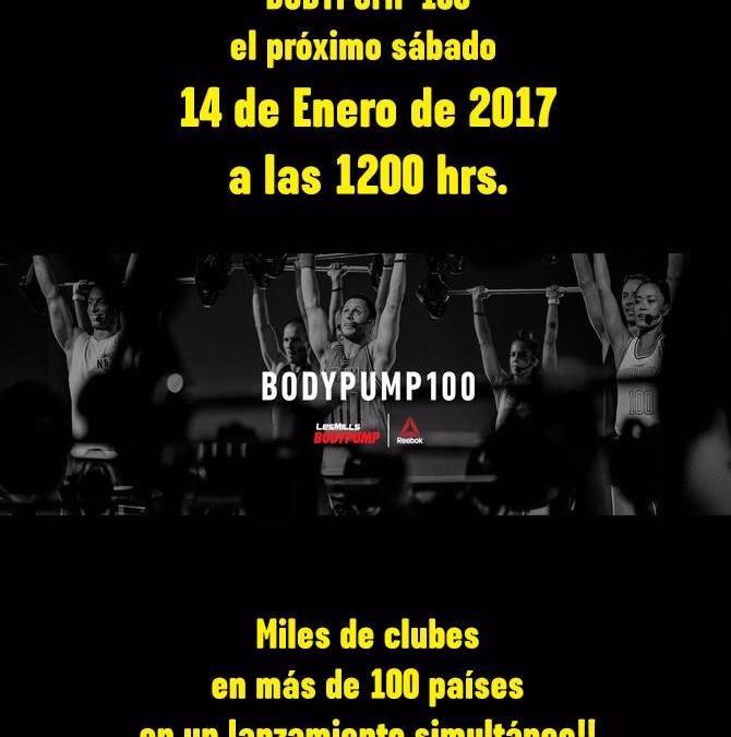 Lanzamiento de BodyPump 100