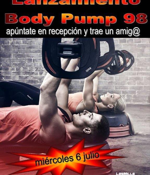 Lanzamiento Nueva coreografía Body Pump 98 en Gimnasio Atenas Marbella