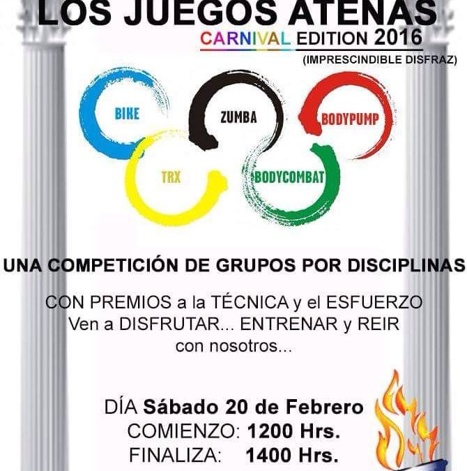 LOS JUEGOS ATENAS (edición Carnaval)