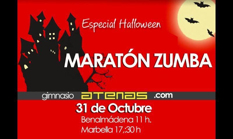 Maratón de Zumba Halloween Benalmádena