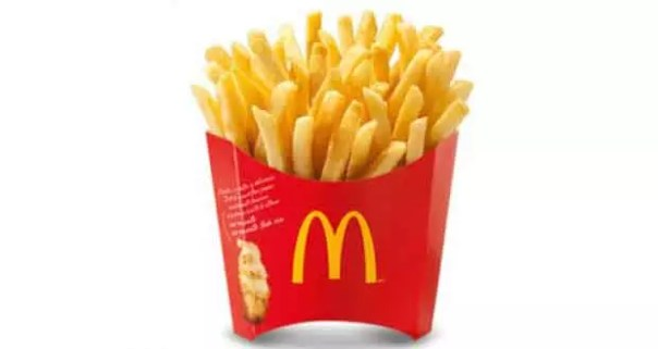 Mcdonald, portion de frites