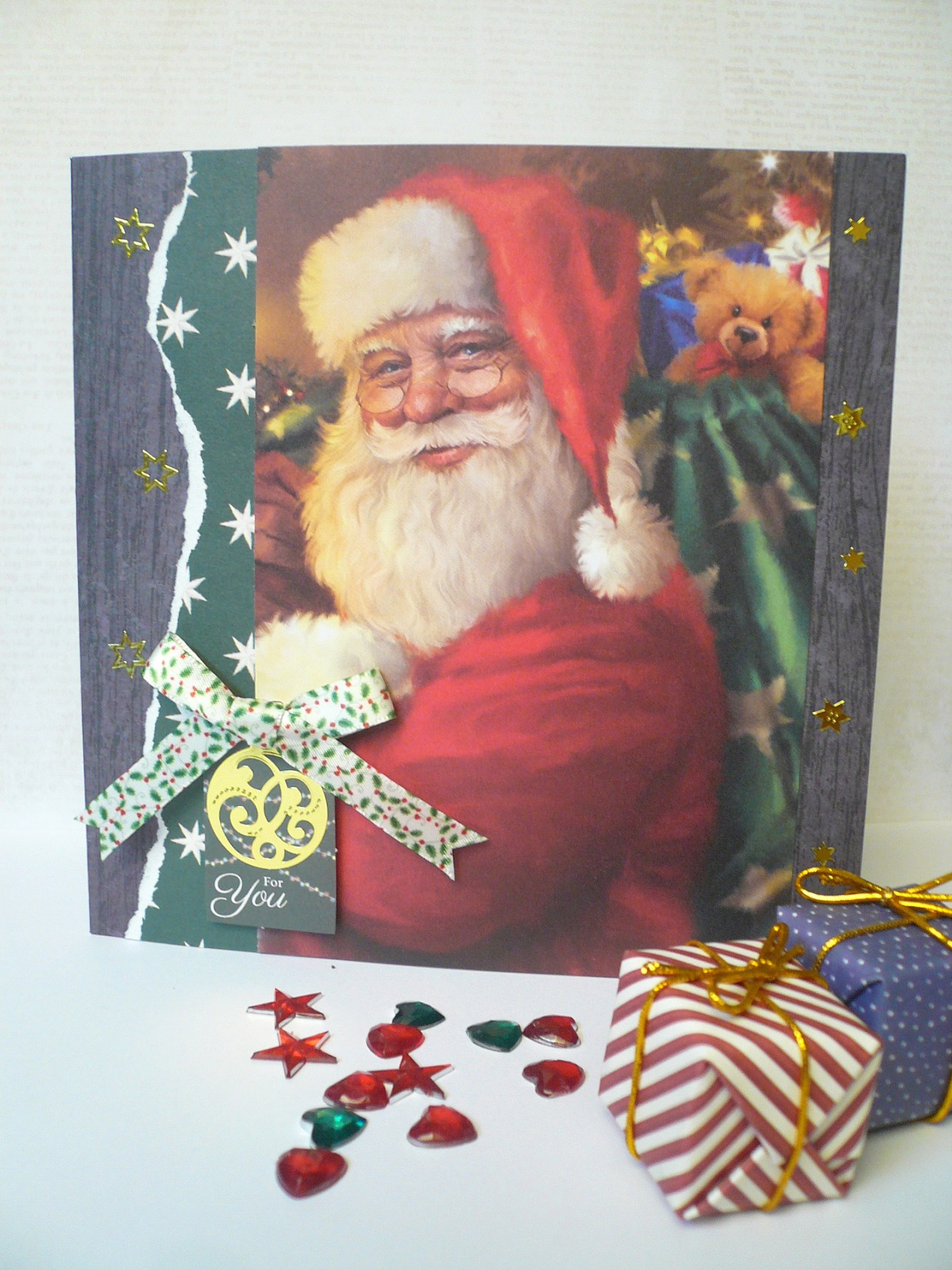 Giorgia Rossini for Docrafts - CHRISTMAS CARD TRIO 2