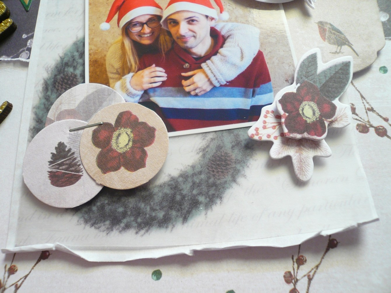 Giorgia Rossini for Docrafts LOVE CHRISTMAS layout 2