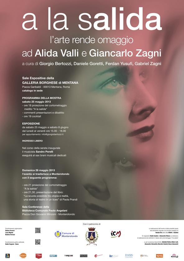A La Salida  L'arte rende omaggio ad Alida Valli e Giancarlo Zagni