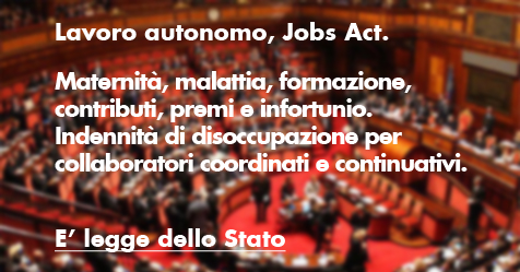 Jobs Act Lavoro Autonomo