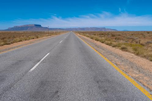 Autobahn Richtung Springbok, Namaqua