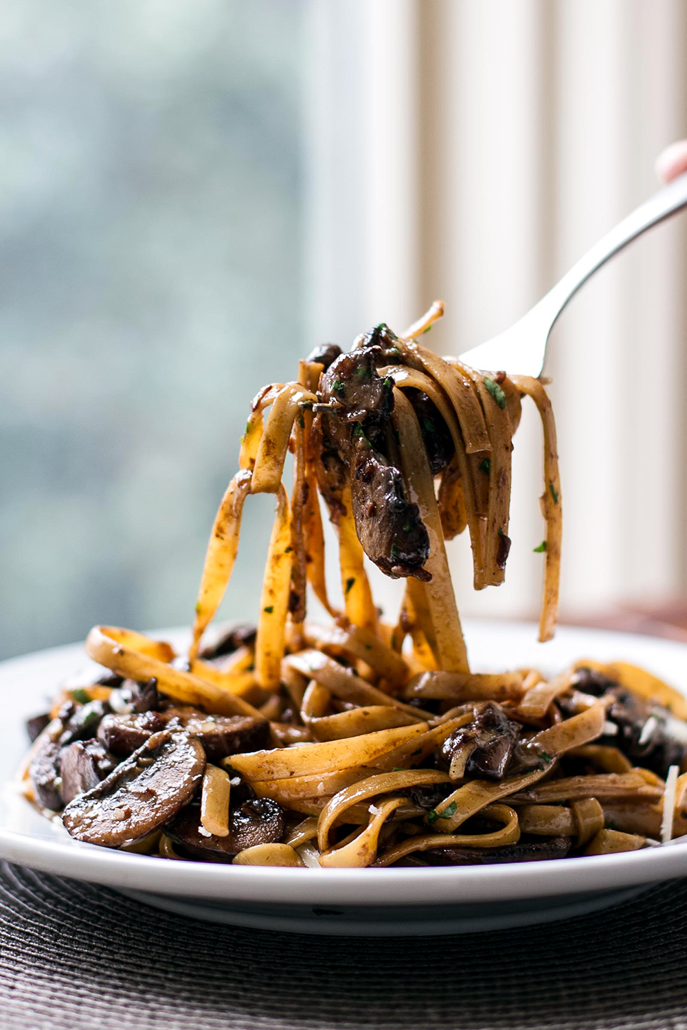 Balsamic Mushroom Pasta | Cooking and Recipes