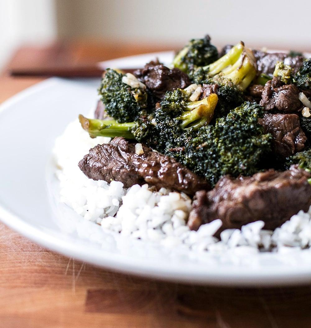 Beef & Broccoli | Girl Gone Gourmet