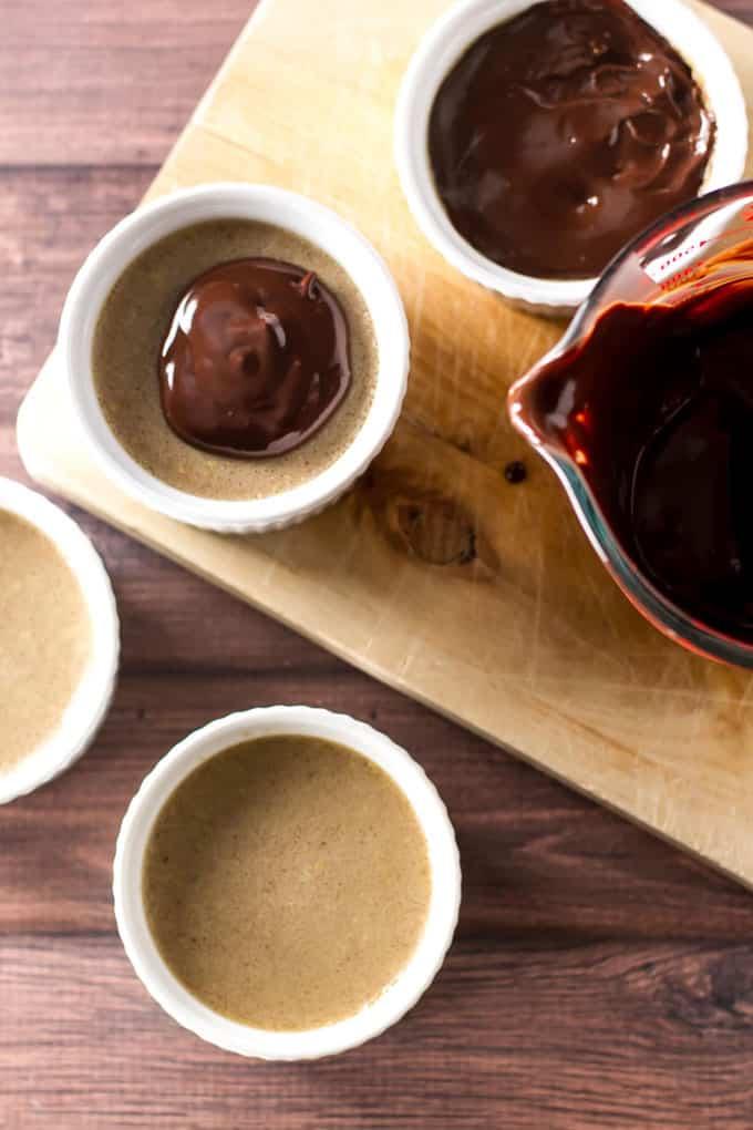 Chocolate Ganache Pots Recipe
