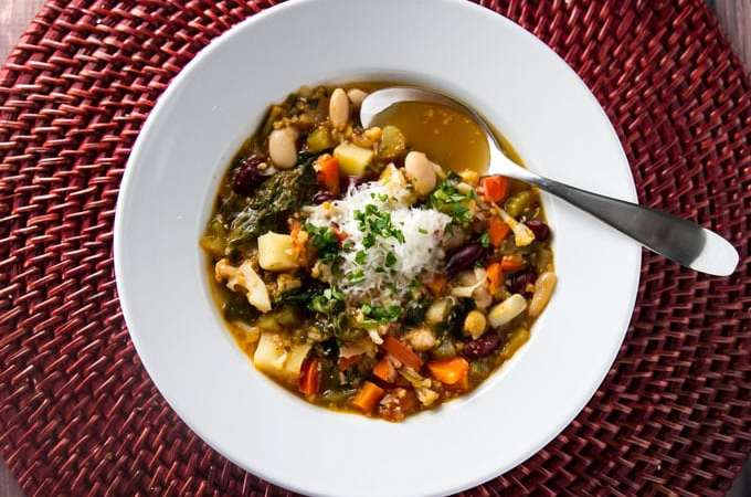 Winter Minestrone | girlgonegourmet.com