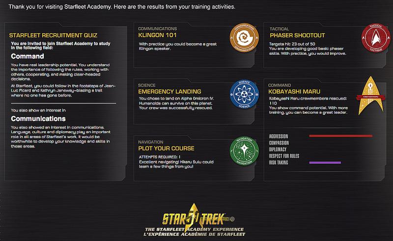 startrek certificate