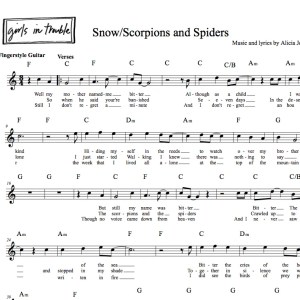 Snow_Scorpions_and_Spiders_Sheet_Music_Image