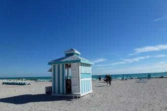 Beach Hut on Miami Beach