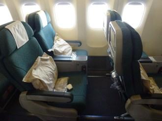 Cathay Pacific Premium Economy Seat