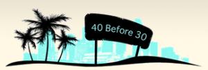 40before30 logo