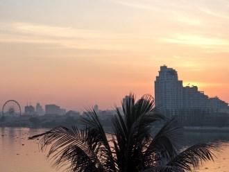 Sunrise view from Anantara Riverside Resort