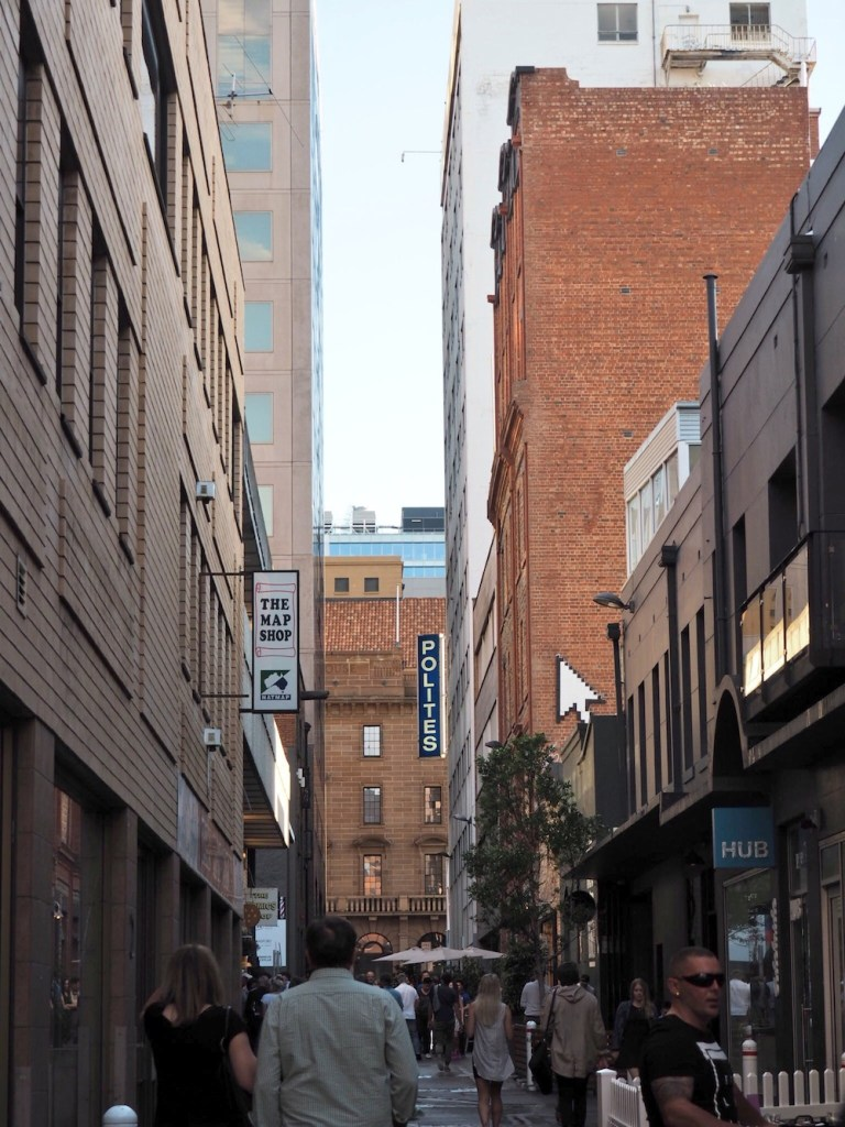 It's not just Melbourne that does laneways