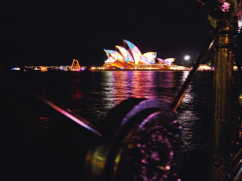 Just when you think Sydney Harbour couldn't get any prettier...