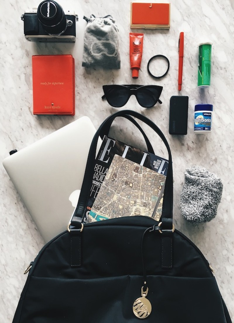 Hand luggage essentials for long haul travel