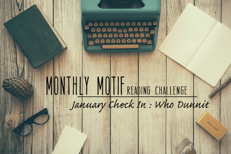 January Monthly Motif Reading Challenge Check In