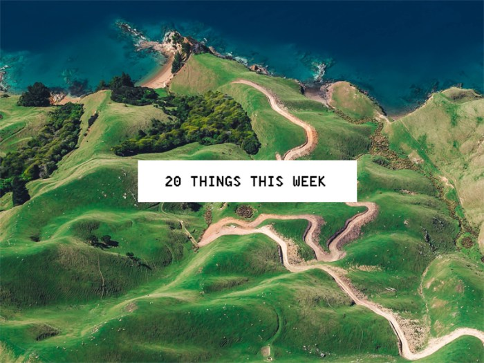20 Things This Week