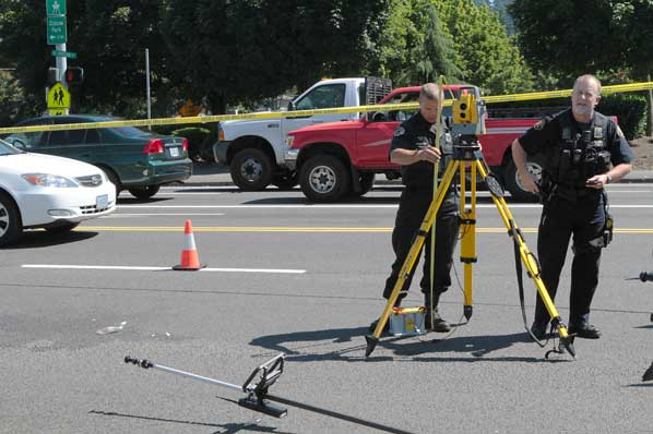 Total station to investigate traffic collision gis resources for Motor vehicle crashes cost american