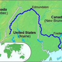 Aroostook River Valley, Maine, USA