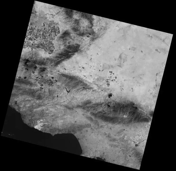 Thermal infrared, or TIR bands of Landsat 8 satellite. Credit: USGS