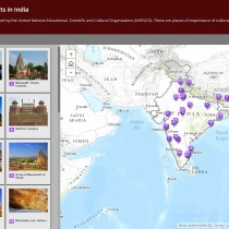 "World Heritage Sites andForts  Lists of ""World Heritage Sites"" and ""Major Forts"" of India."