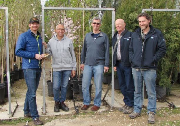 US Forestry Service Shares Remote Sensing Tech with Israel. (photo credit:KKL-JNF)