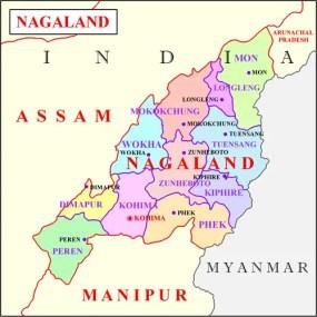Nagaland_map_india