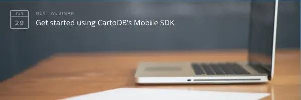 CartoDB's Mobile SDK