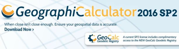 Geographic Calculator 2016 SP2