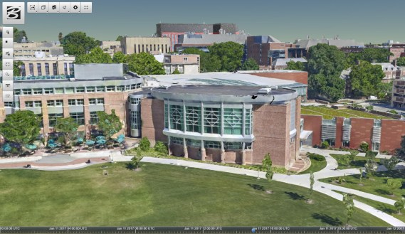 HUB-Robeson Center at Penn StateImage courtesy of the Cesium Consortium.